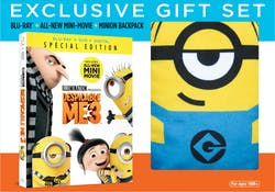 Despicable Me 3 (Exclusive Backpack Gift Set) [Blu-ray]