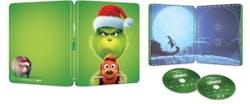 Illumination Presents: Dr. Seuss' the Grinch (Steelbook + Digital) [Blu-ray]