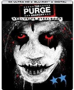 The Purge: Anarchy (4K Ultra HD + Blu-ray (Steelbook)) [Blu-ray]
