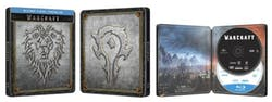 Warcraft: The Beginning (Steelbook DVD + Digital) [Blu-ray]