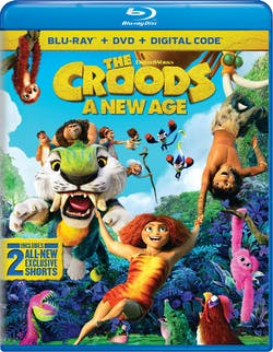 The Croods: A New Age (with DVD) [Blu-ray]