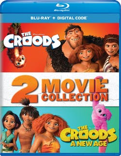 The Croods: 2 Movie Collection [Blu-ray]