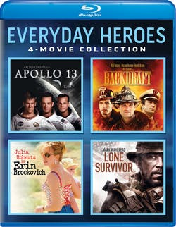 Everyday Heroes 4-Movie Collection (Apollo 13 / Backdraft / Erin [Blu-ray]
