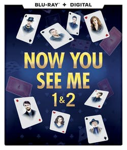 Now You See Me/Now You See Me 2 (with Digital Download) [Blu-ray]