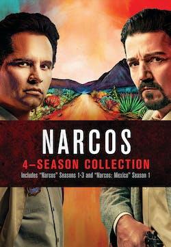 Narcos: Four Season Collection (Box Set) [DVD]