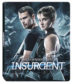 Insurgent (Steel Book with 3D Blu-ray + 2D Blu-ray) [Blu-ray]