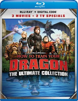 How to Train Your Dragon: Ultimate Collection (Box Set) [Blu-ray]