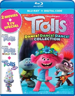 Trolls Dance! Dance! Dance! Collection (Box Set) [Blu-ray]
