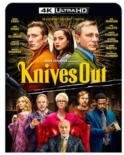 Knives Out (with DVD and Digital Download) [Blu-ray]