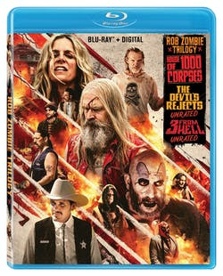 Rob Zombie Triple Feature (with DVD) [Blu-ray]