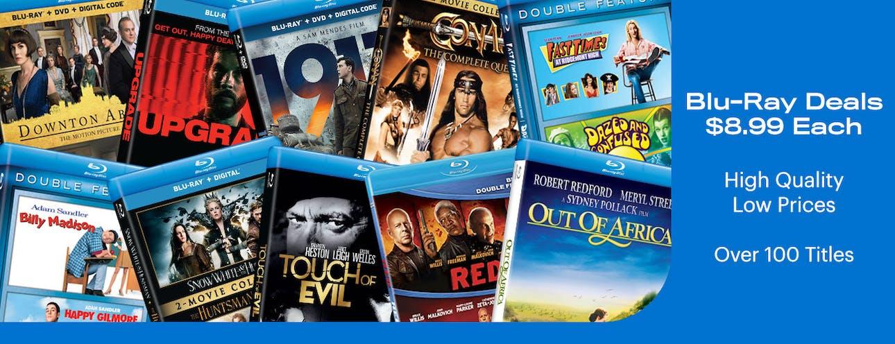 1300x500 Blu-ray Deals at $8.99 October