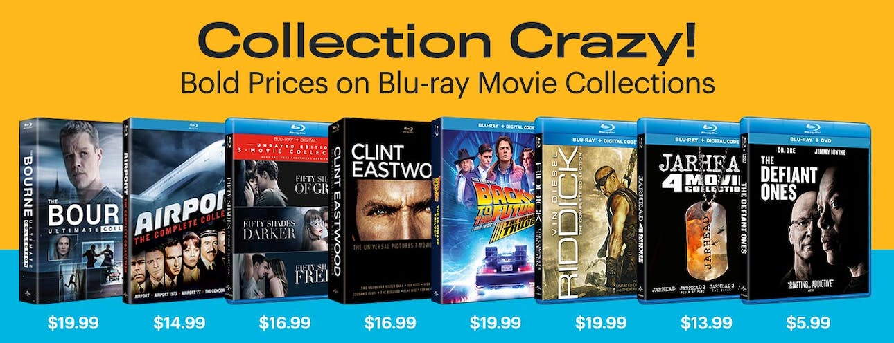 1300x500 Collection Crazy - Blu-Ray Movies