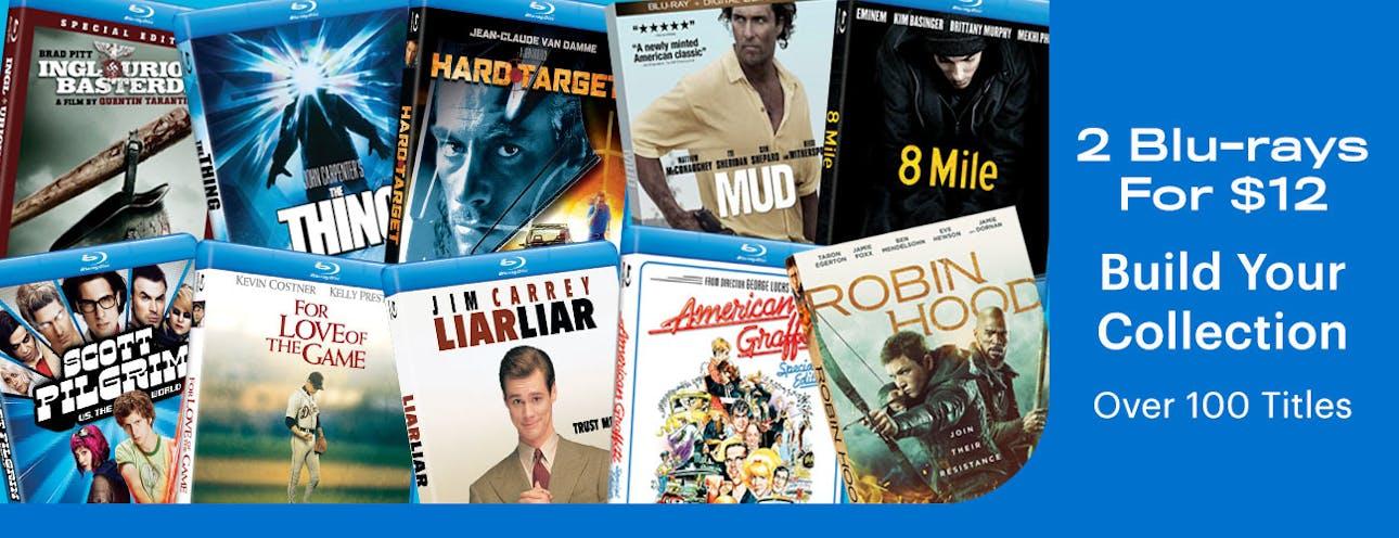 1300x 500 2 Blu-rays For $12 September