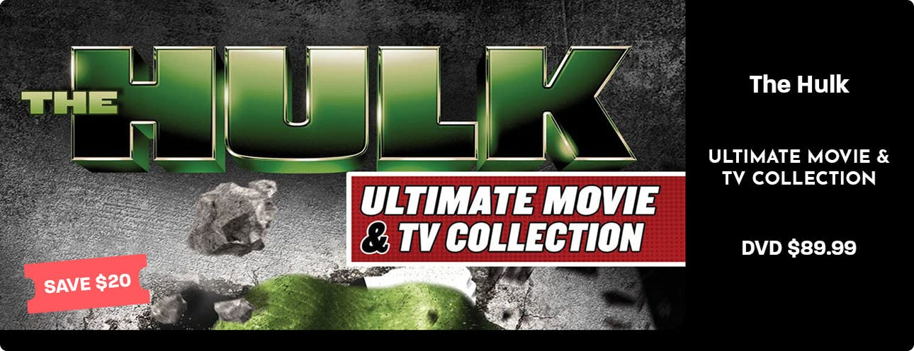 The Hulk Ultimate Movie & TV Collection