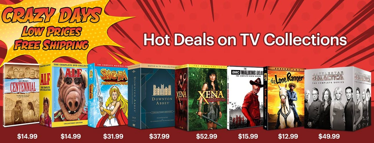 1300x500 Crazy Days- Hot Deals on TV Titles