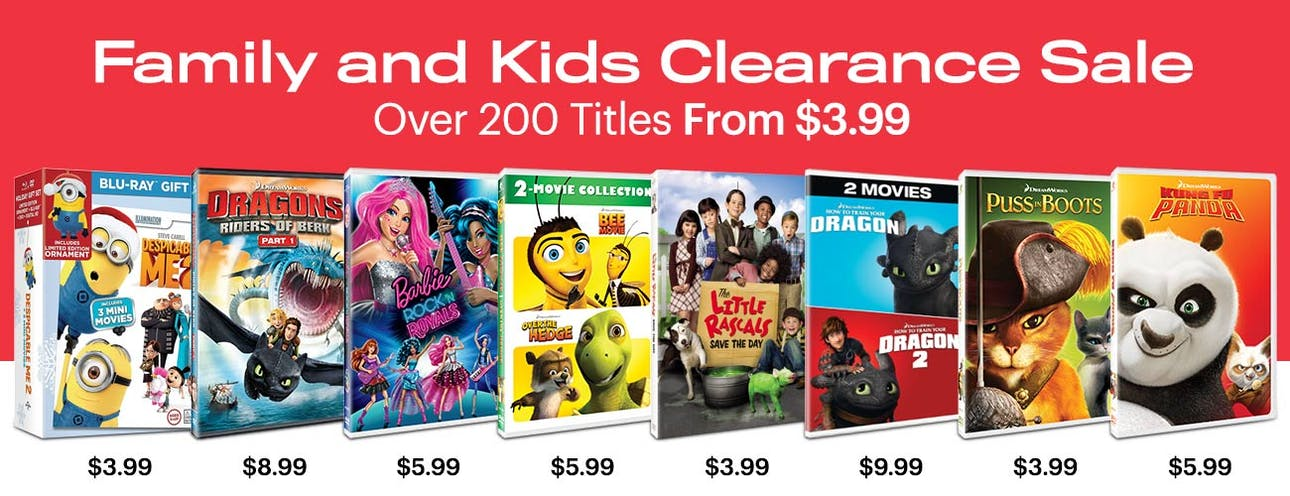 1300x500 Clearance Sale- Kids and Family