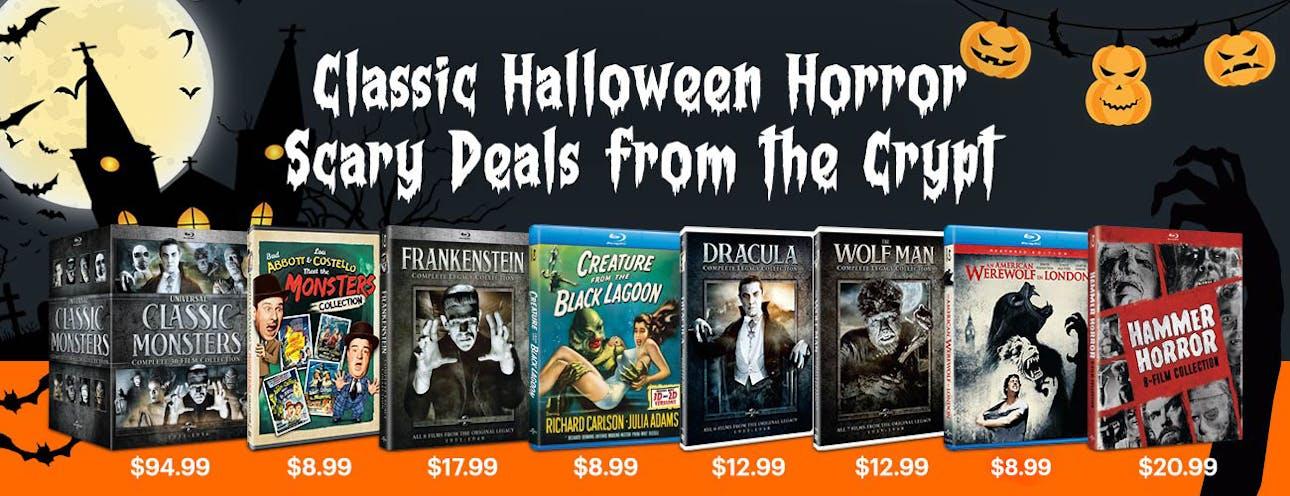 1300x500 Classic Halloween Horror