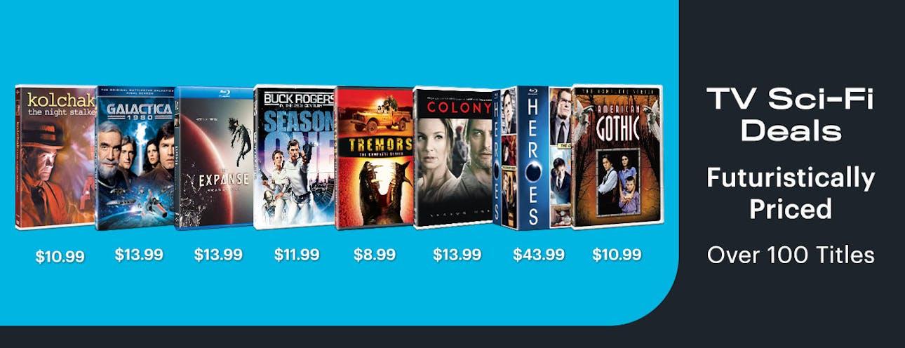 1300x500 TV Sci-Fi Deals - Futuristically Priced