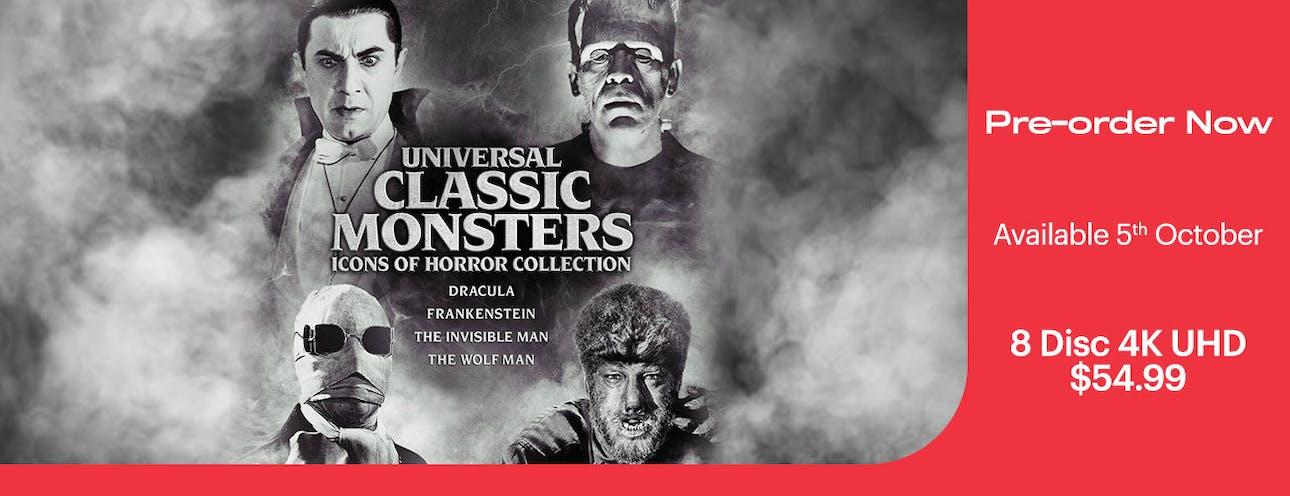 1300x500 Universal Classic Monsters 4K UHD