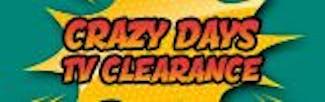 165x52 Crazy Days TV Warehouse Clearance