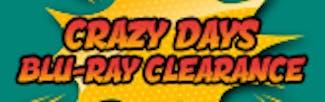 165x52 Crazy Days Blu-ray Warehouse Clearance