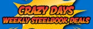 165x52 Crazy Days - Steelbook Weekly Deals Wk 1
