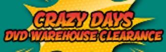 165x52 Crazy Days - DVD Warehouse Clearance
