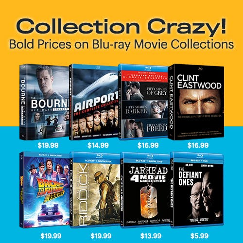 500x500 Collection Crazy - Blu-Ray Movies