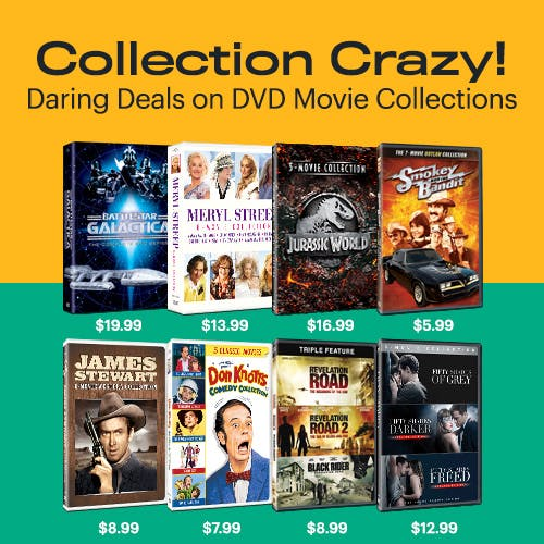 500x500 Collection Crazy - DVD Movies