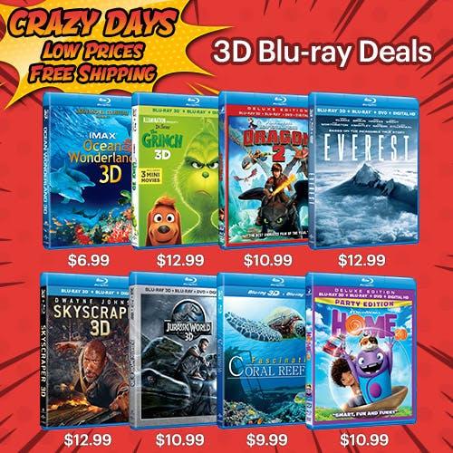 500x500 Crazy Days - 3D Blu-ray Deals