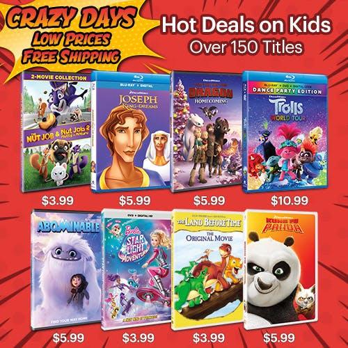 500x500 Crazy Days - Hot Deals on Kids V2