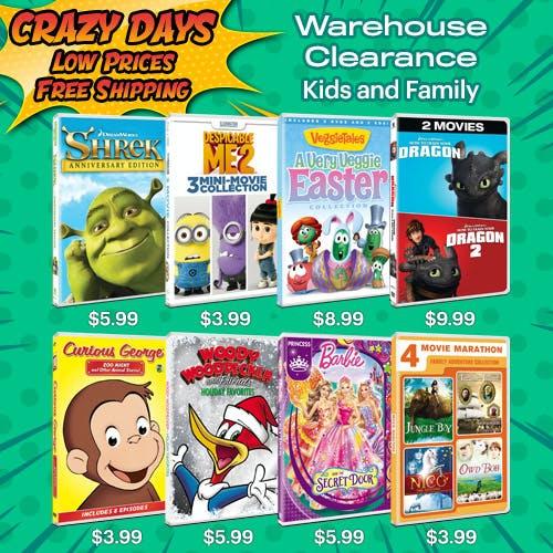 500x500 Crazy Days - Kids Warehouse clearance