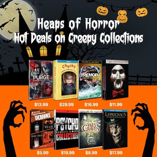 500x500 Heaps of Horror Collections