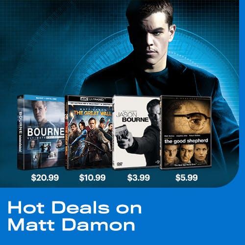 500x500 Hot Deals on Matt Damon