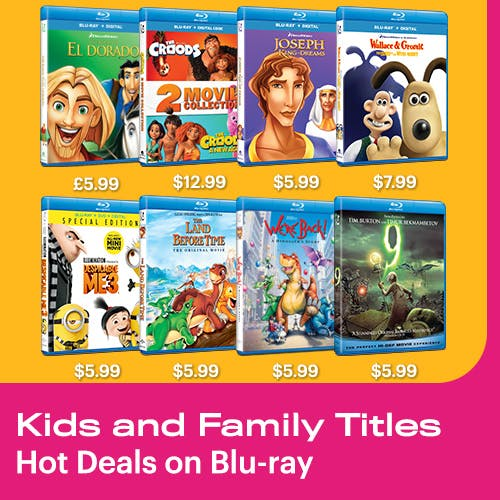 500x500 Kids and Family: Hot Deals on  Blu-ray