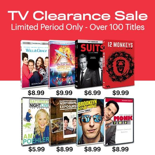 500x500 TV Clearance Sale Version 2