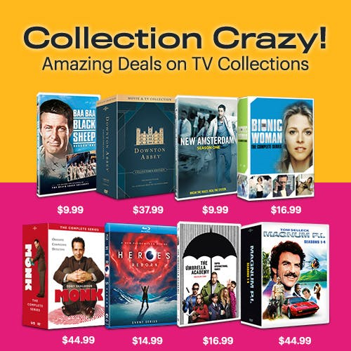 500x500 Collection Crazy - TV Titles