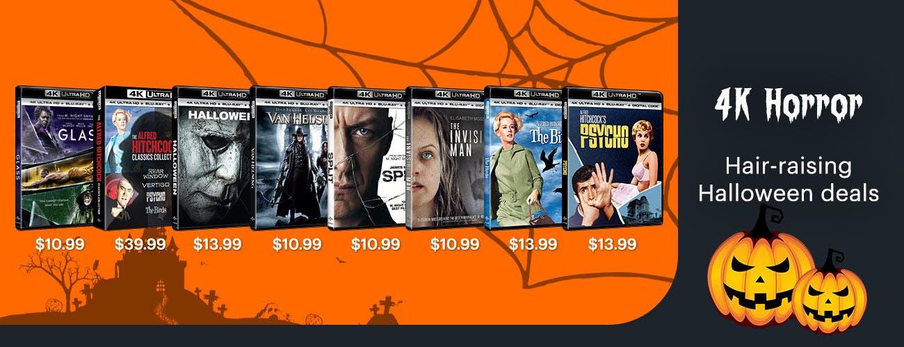 4K Horror - Hair -raising Deals for Halloween