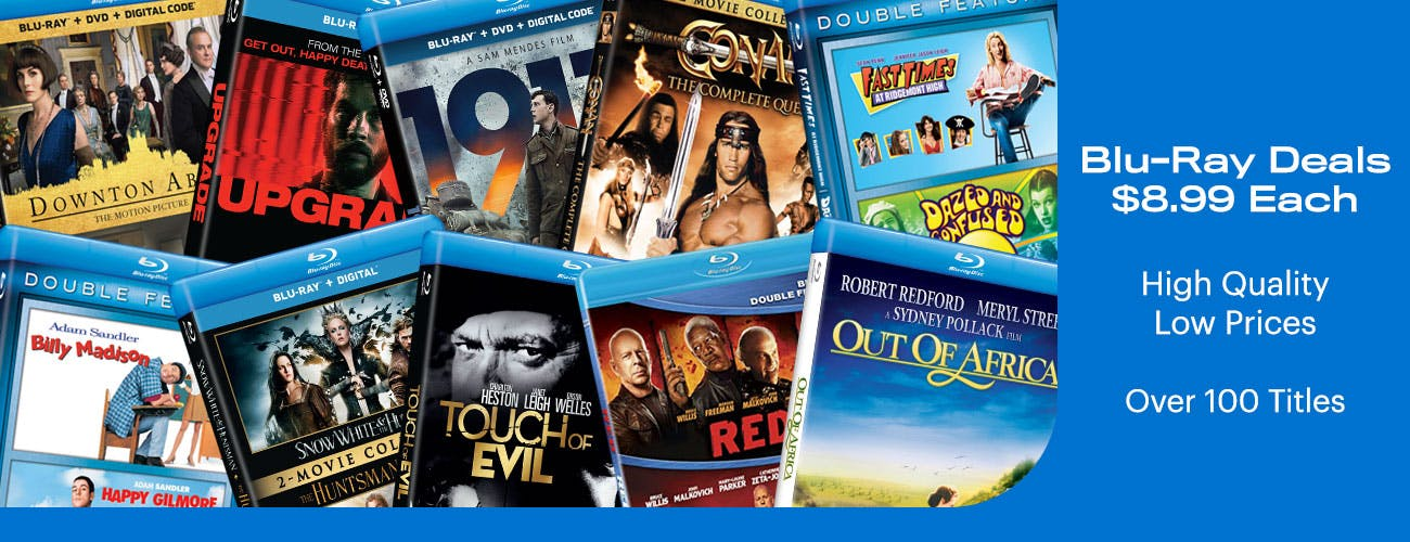Blu-ray Deals at $8.99 - High Quality Low Prices