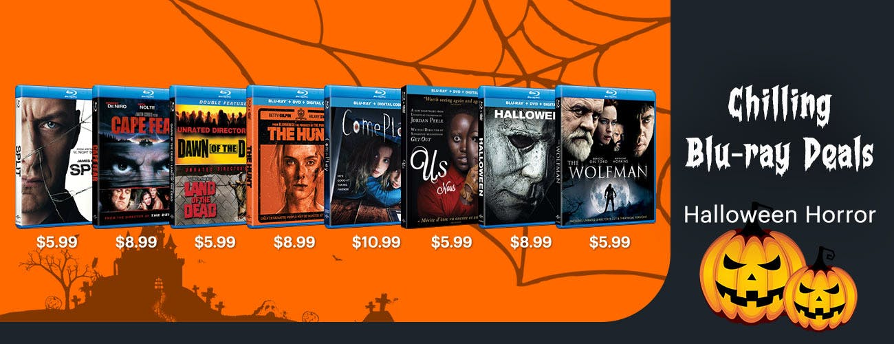 Chilling Blu-ray Deals on Horror Movies