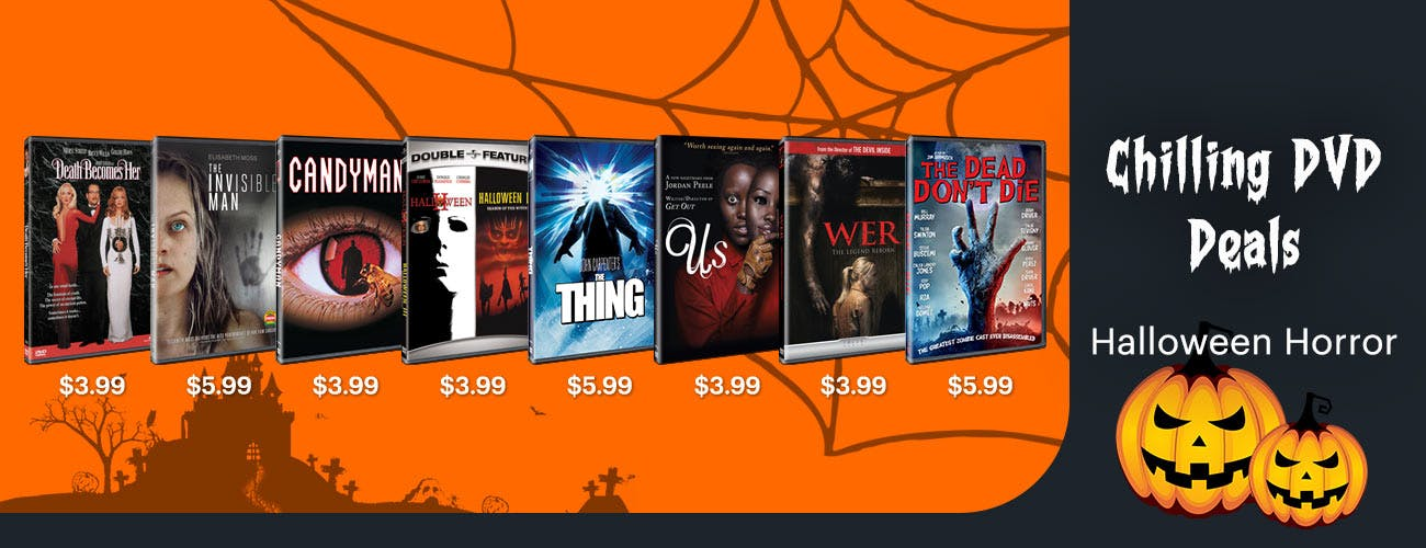 Chilling DVD Deals on Horror Movies