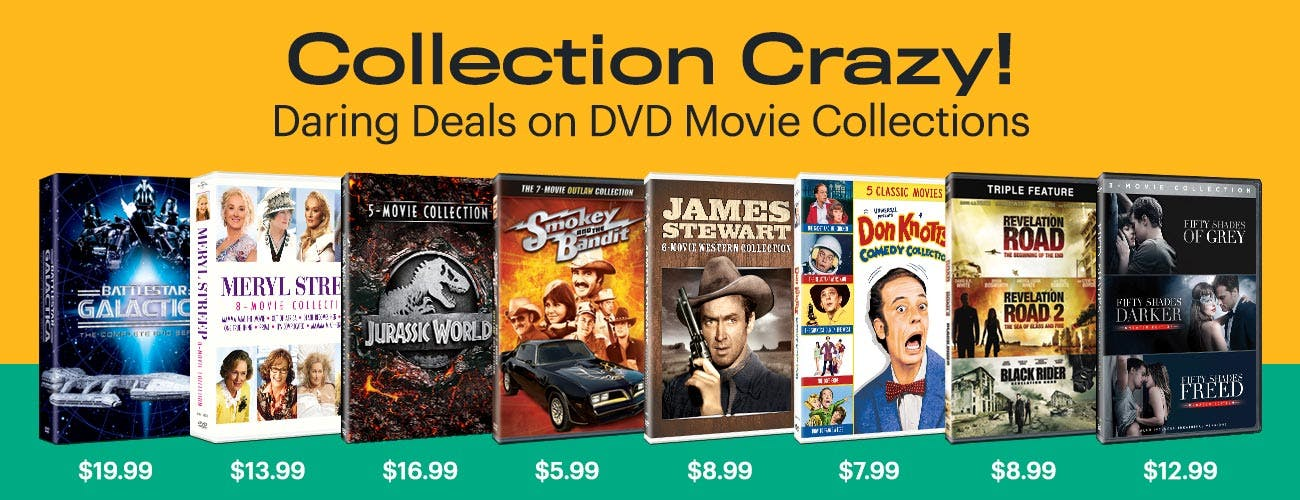 Collection Crazy - Daring Deals on DVD Movie Collections