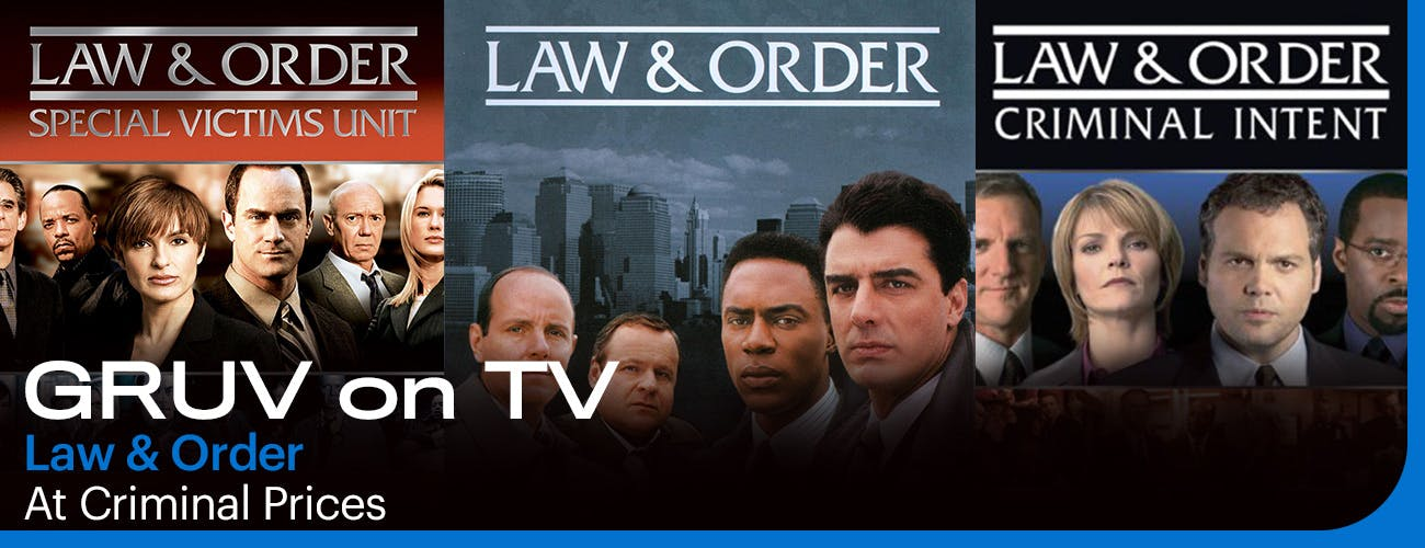 GRUV on TV: Law and Order