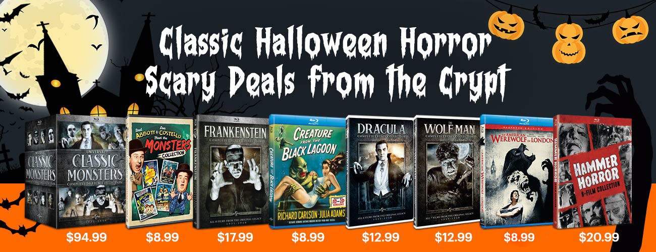 Classic Halloween Horror - Scary Deals From The Crypt