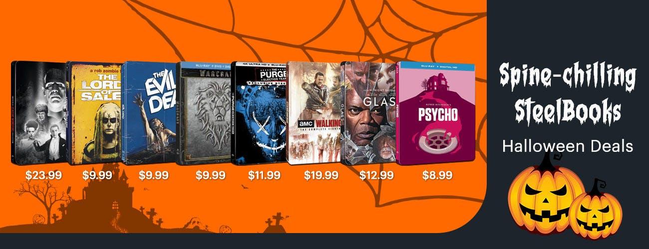 Spine-chilling SteelBooks - Halloween Deals
