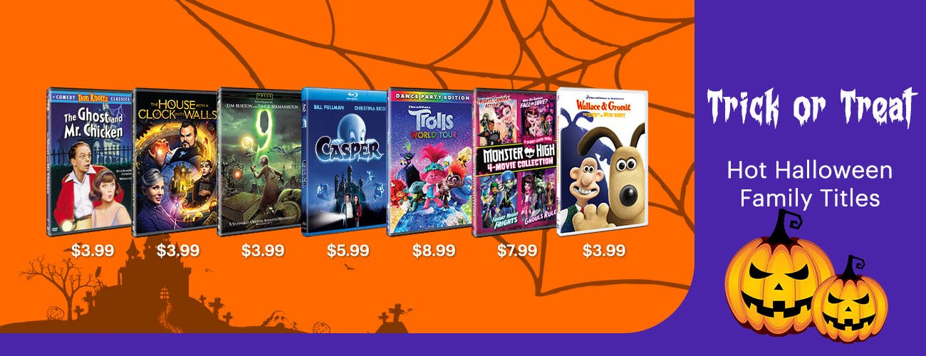Trick or Treat - Hot Halloween Family Titles