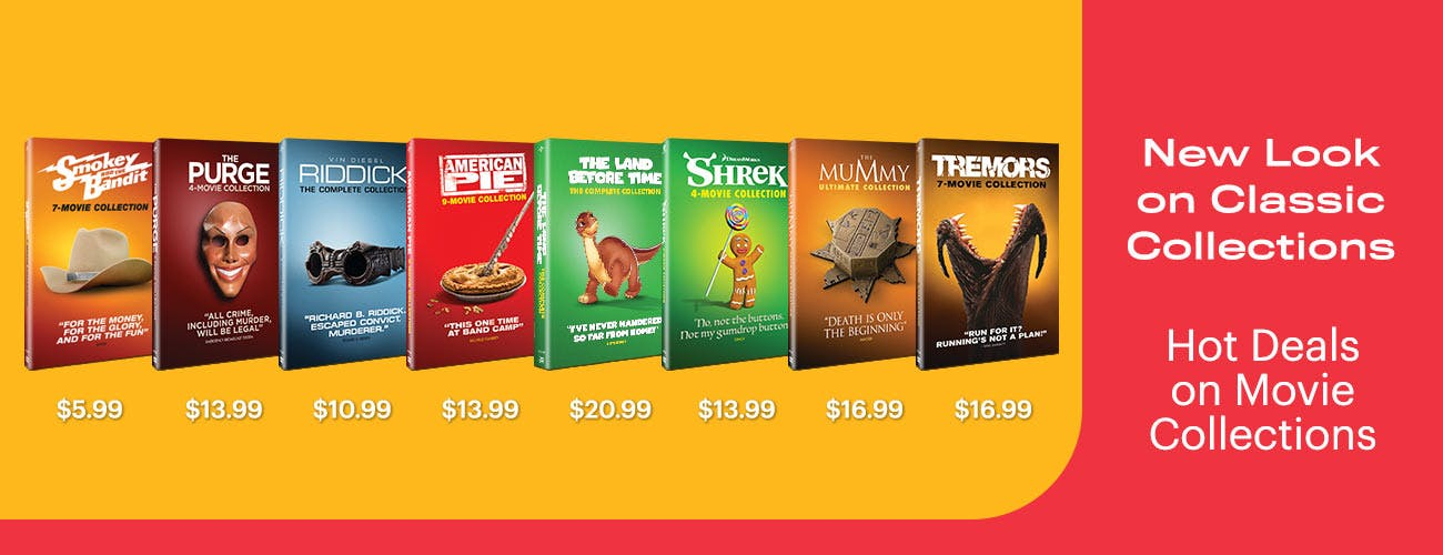 New Look on Classics: Hot Deals on Movie Collections