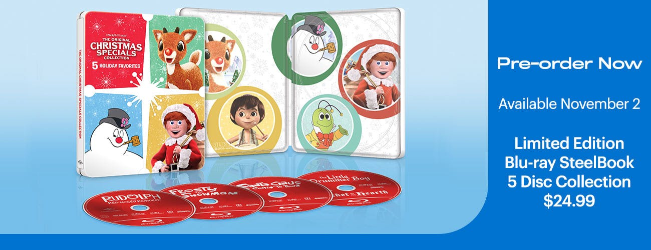 The Original Christmas Specials Collection- Limited Edition SteelBook