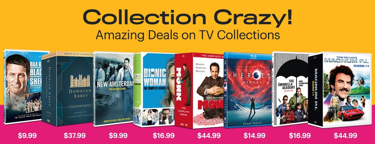 Collection Crazy - Amazing Deals on TV Collections