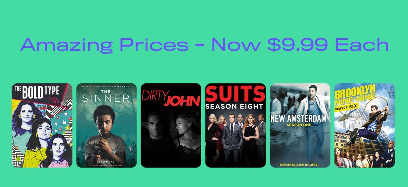 Amazing Prices - Now $9.99
